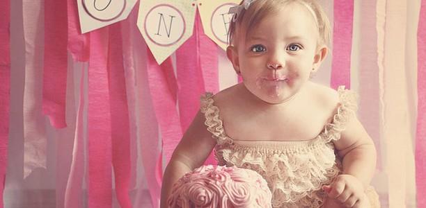 Le premier anniversaire de bébé, ça se fête !