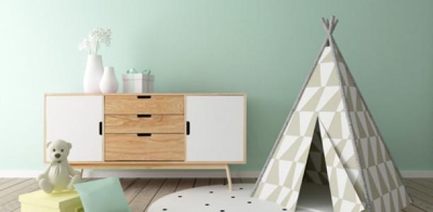 Quelle peinture pour une chambre d'enfant ?